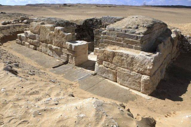 Tumba de Jintakus III, faraona de la V Dinastía.