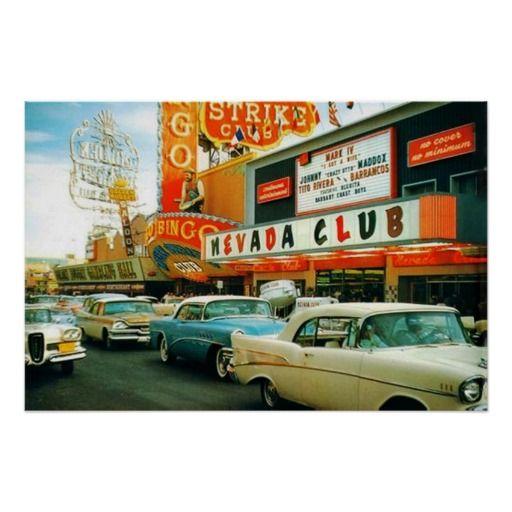 Las Vegas en los años 50