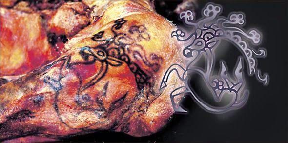 Tatuajes originales de Ukok