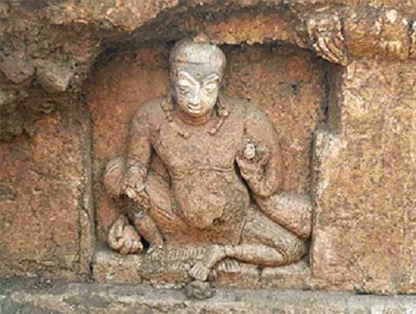 Buda encontrado en un templo en India. Crédito: IndianetZone