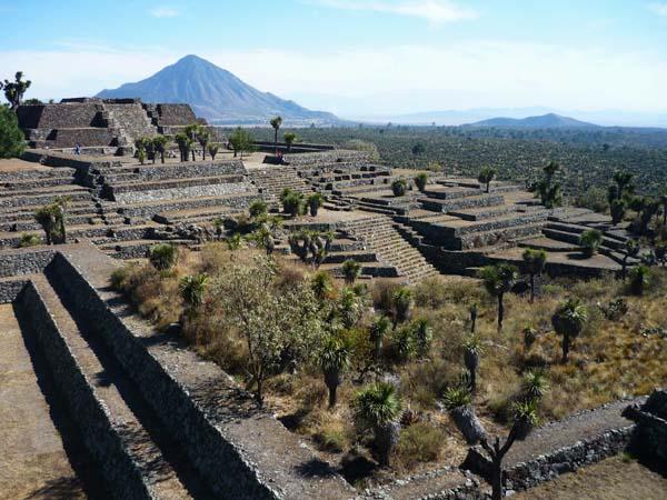 Ciudad de Cantona, en México