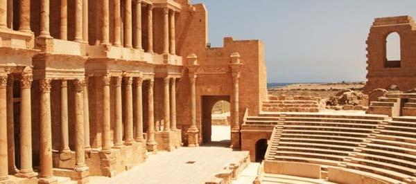 Sabratha, en Libia.