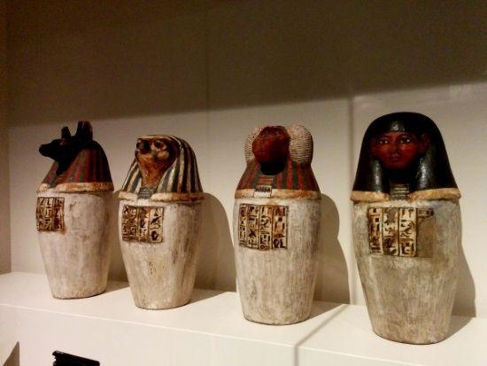 Detalles increíbles en la exposición Animales y Faraones.