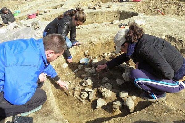 Enterramientos tracios en Bulgaria.
