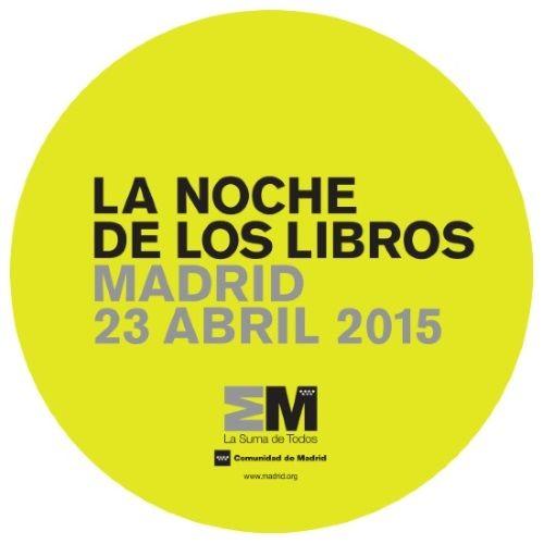 Descarga el programa de la Noche de los Libros 2015.