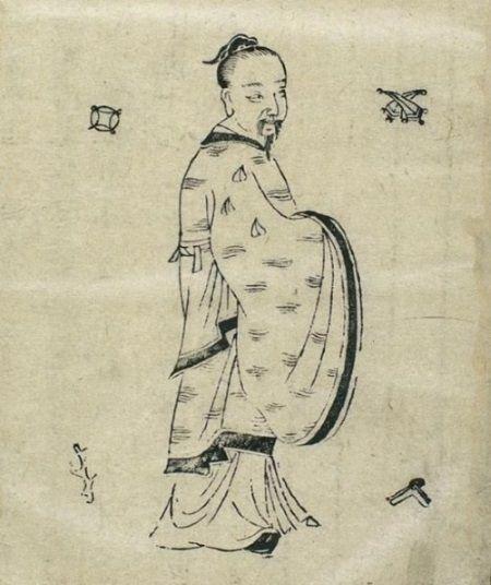 Ilustración de un antiguo médico confuciano. Crédito: Wikimedia Commons.