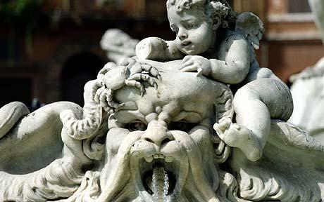 La fuente de la Plaza Navona ha sufrido varios actos vandálicos en los últimos años.
