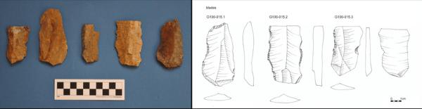 Herramientas neandertales halladas en Naxos.