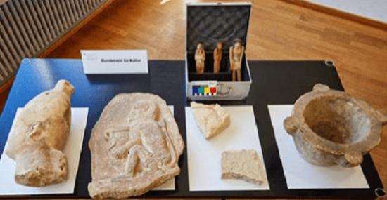 Suiza devuelve varios objetos a Egipto. Crédito: Swiss Federal Office of Culture