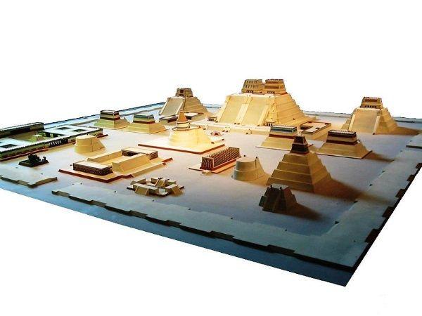 Reproducción de Tenochtitlán. Crédito: Wikimedia