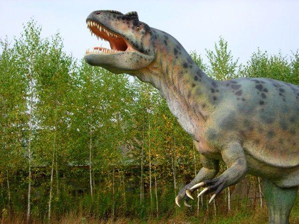 Reproducción de T-Rex. Crédito: Wikimedia.