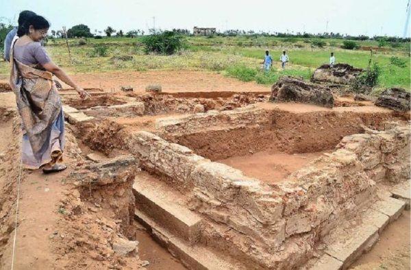 Yacimiento de la era Pandya hallado en India.