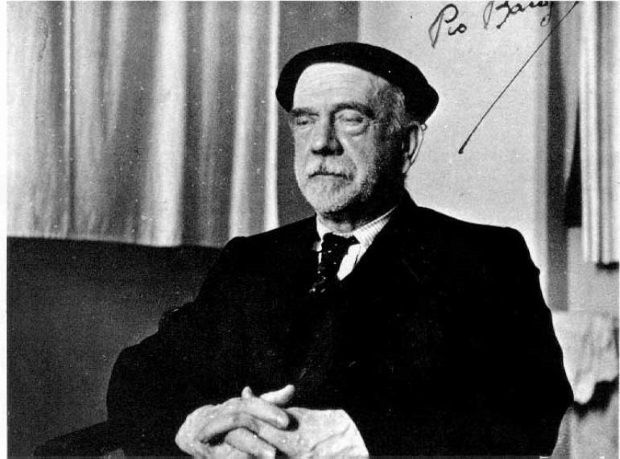 Pío Baroja. Crédito: Wikimedia