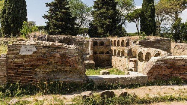 Yacimiento de Ostia Antica.