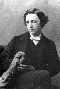 Lewis Carroll en 1863.