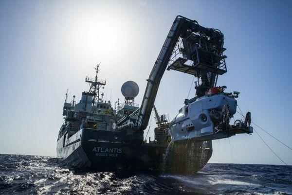Imagen del 'Atlantis', el barco de la expedición científica en la que se localizó al pecio