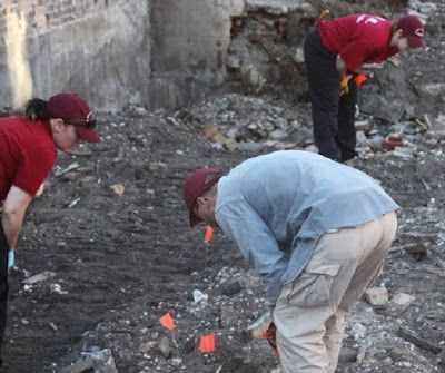 El antropólogo Stephen Nawrocki, ha sido llamado a investigar en Singleton Quarry