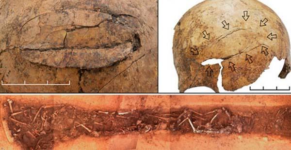 Investigadores hallan muestras de masacres en la época Neolítica. Crédito: Universidad de Maguncia.