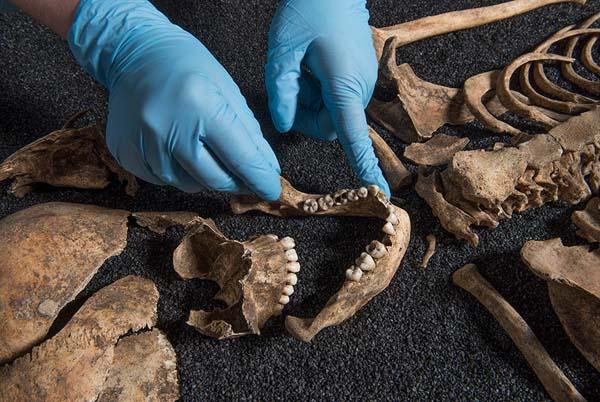 El análisis de cuatro esqueletos antiguos de Londres ha demostrado su multiculturalidad desde sus orígenes.