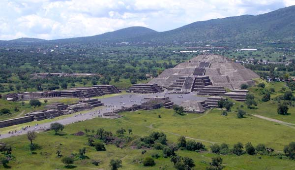 Teotihuacán. Crédito: Wikimedia
