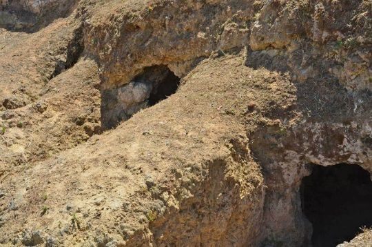 Tumbas micénicas encontradas en Kiveri. Crédito: ANA-MPA