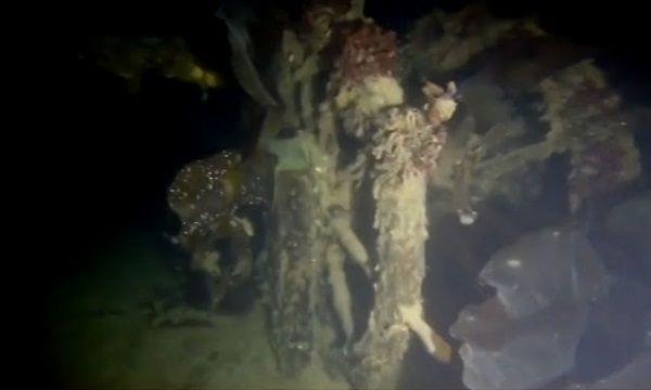 Timón del HMS Terror encontrado en el Ártico.