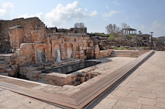 ciudad romana cesarea israel