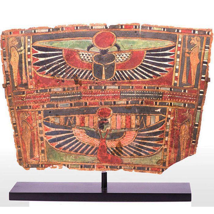 panel egipcio cartonage