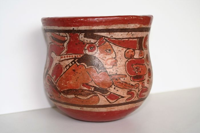 vaso maya año 600