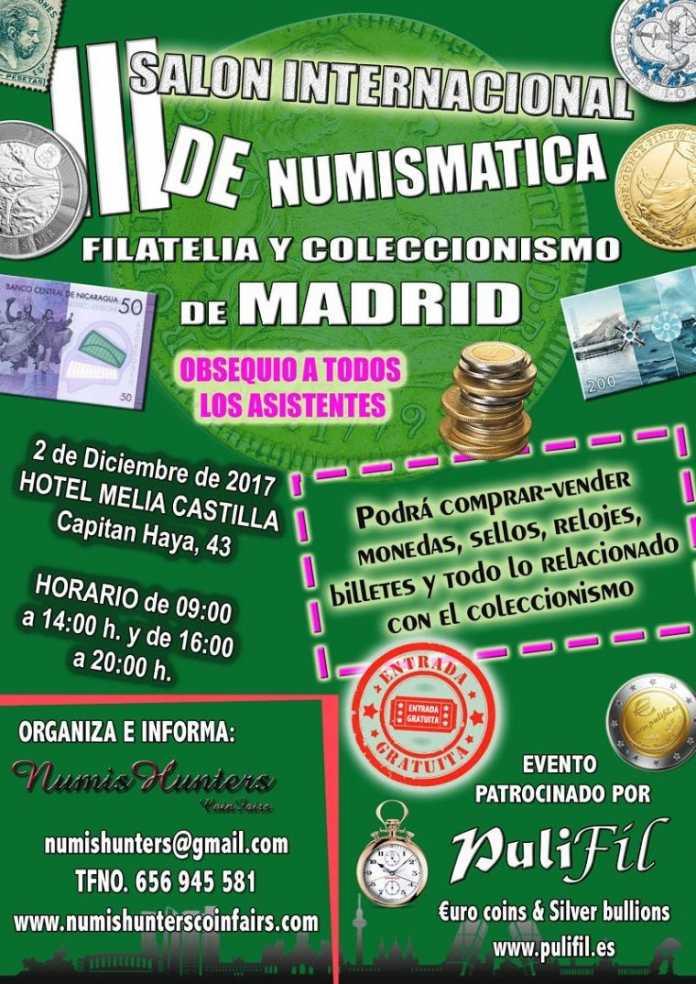 salon numismatica madrid