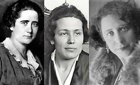 Clara Campoamor, Victoria Kent y Margarita Nelken