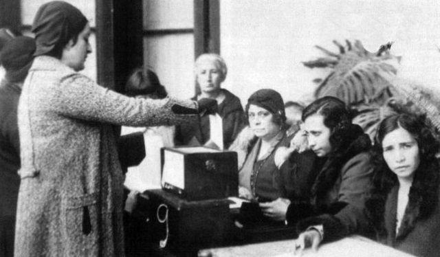 voto mujer españa