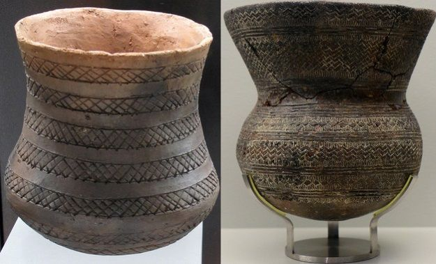 vasos campaniformes almeria y cordoba