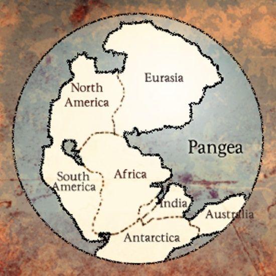 supercontinente pangea