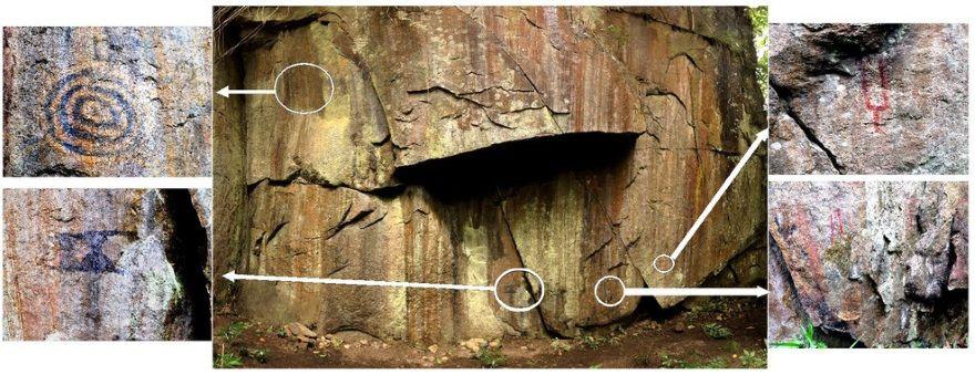 pinturas rupestres inkaterra machu picchu