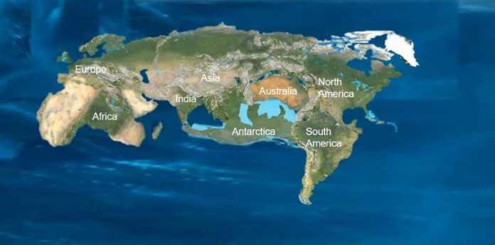 supercontinente futuro novopangea