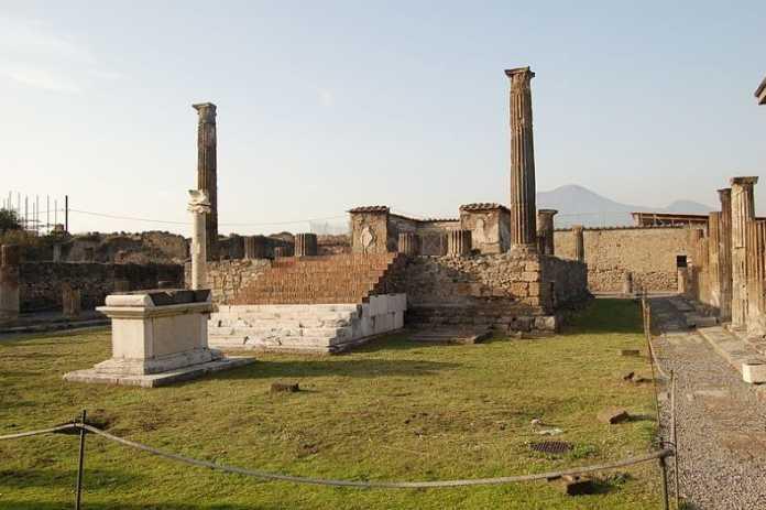 templo apolo pompeya