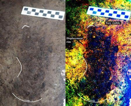foto huellas humanas canada 13000 años