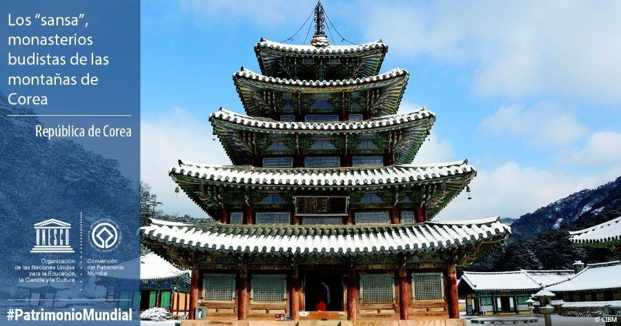 Los sansa, monasterios budistas de las montañas de Corea