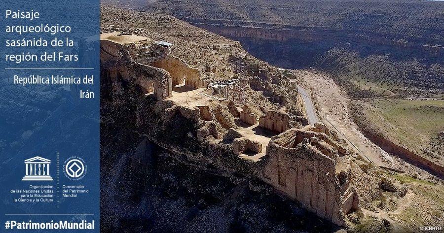 Paisaje arqueológico sasánida de la región del Fars, en Irán