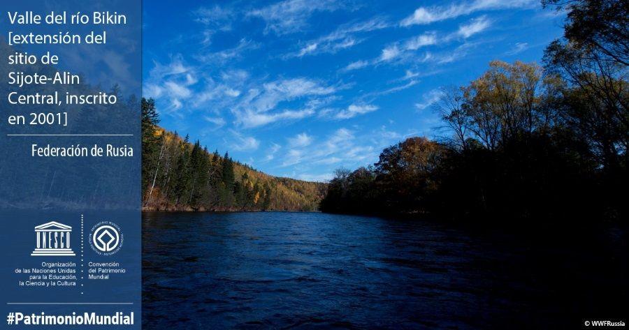 Valle del río Bikin rusia