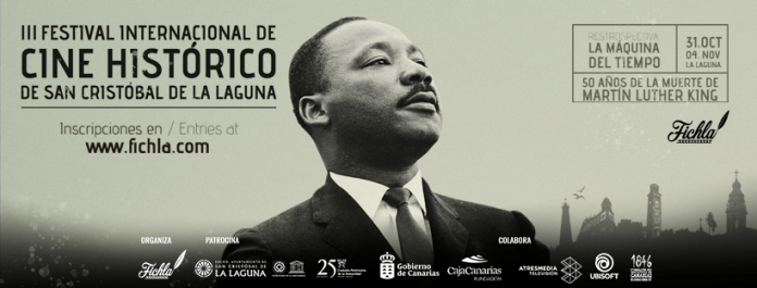 cartel Festival Internacional de Cine Histórico de La Laguna