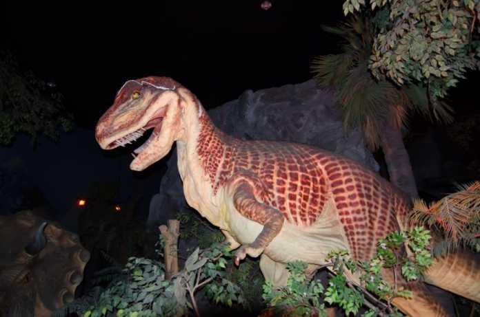 afrovenator dinosaurio