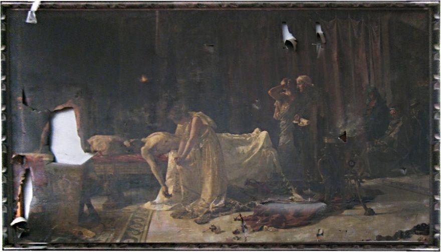 muerte de lucano antes restauracion