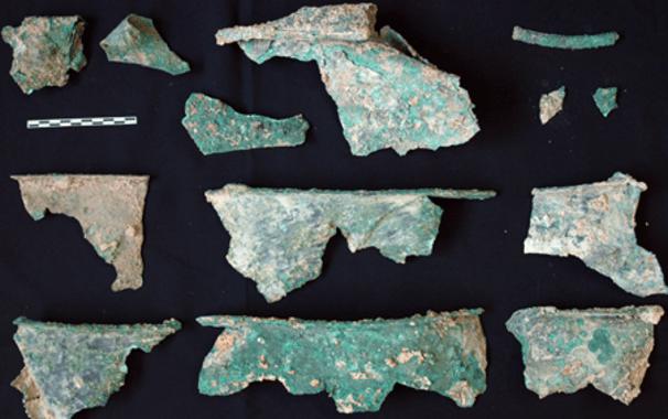 fragmentos caldero iberico
