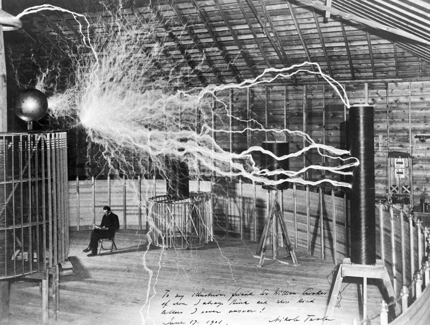 imagen nikola tesla electricidad