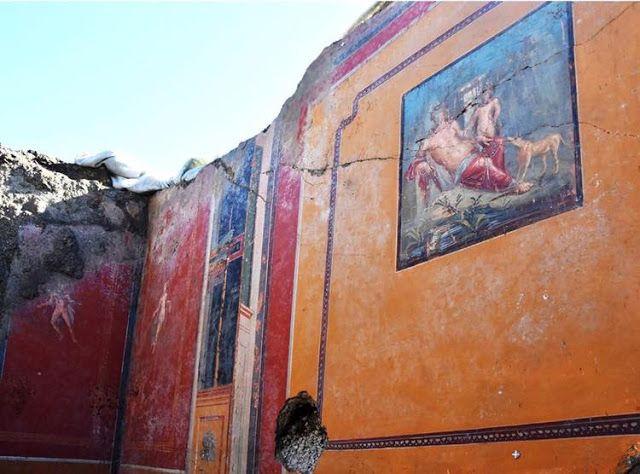 pared casa pompeya