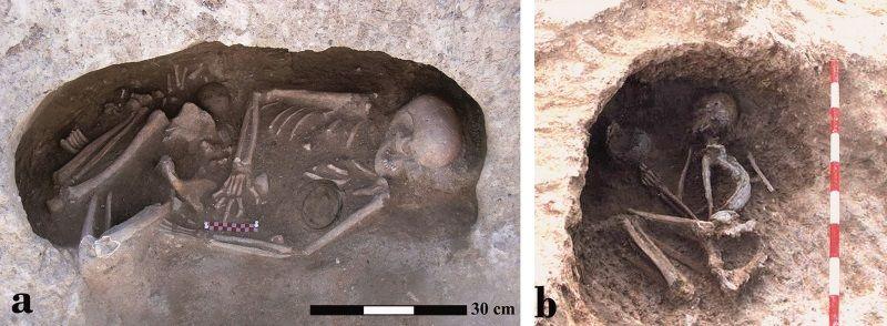 inhumaciones en yacimiento camino de las yeseras