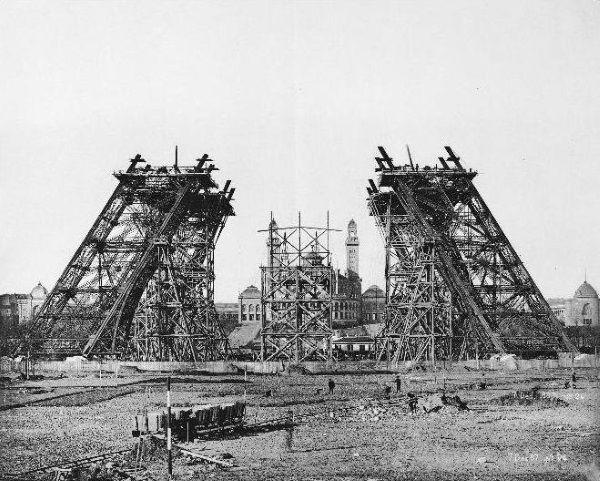 montaje torre eiffel