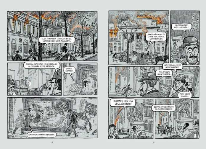 pagina comic museo del prado